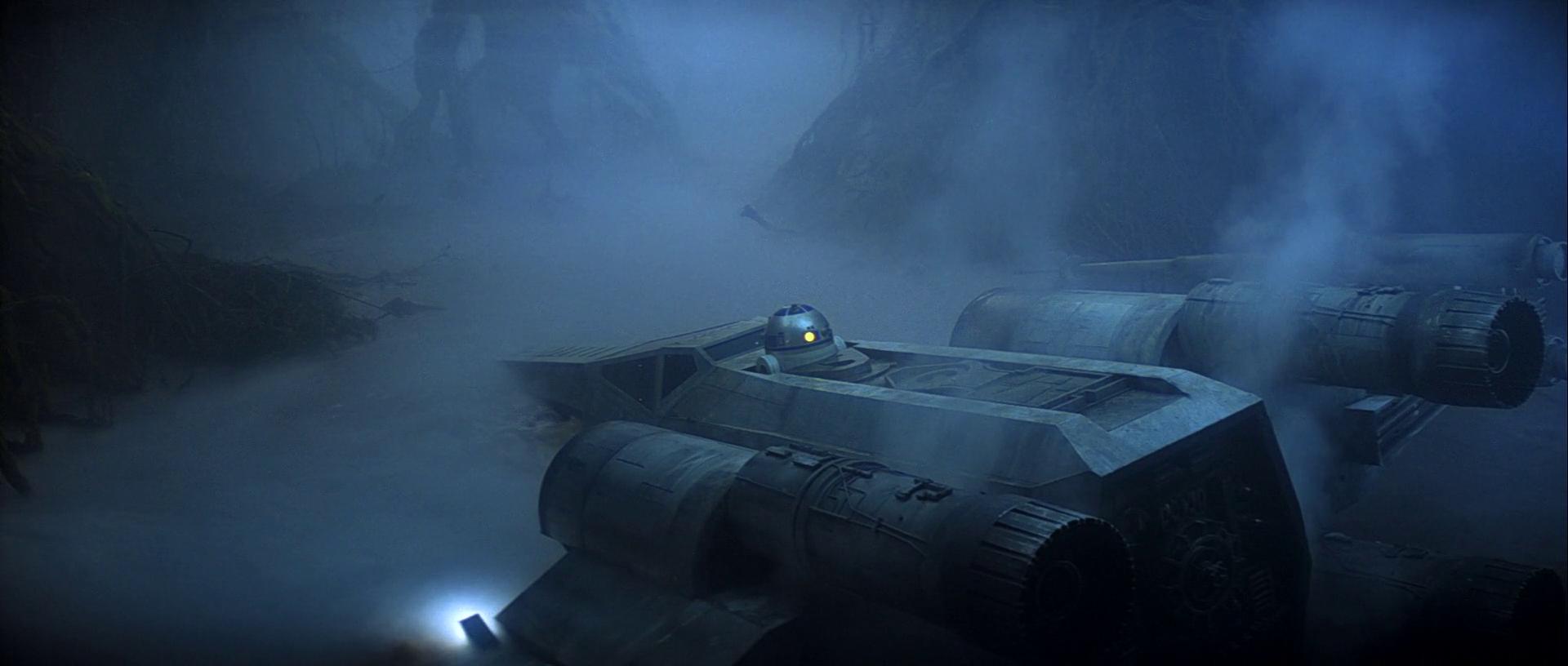 Texture de Star Wars - Dagobah