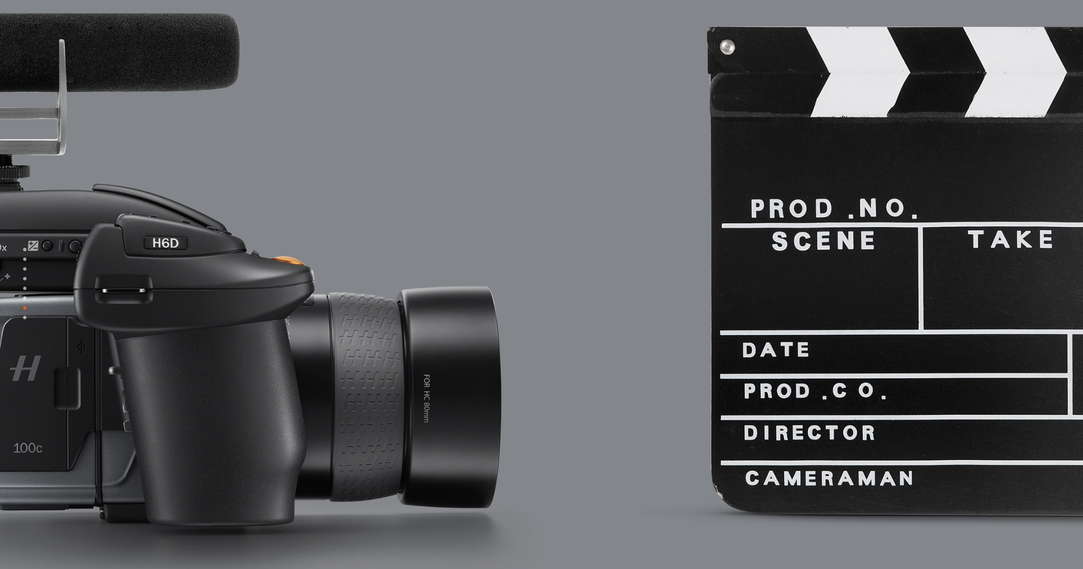 Hasselblad H6D Video Slate