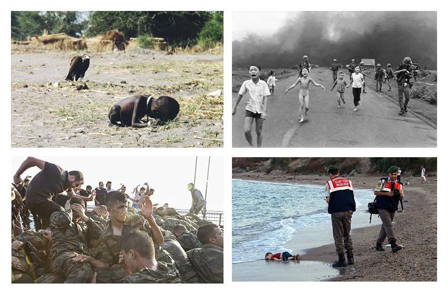 4 photos pour apprivoiser l'image violente