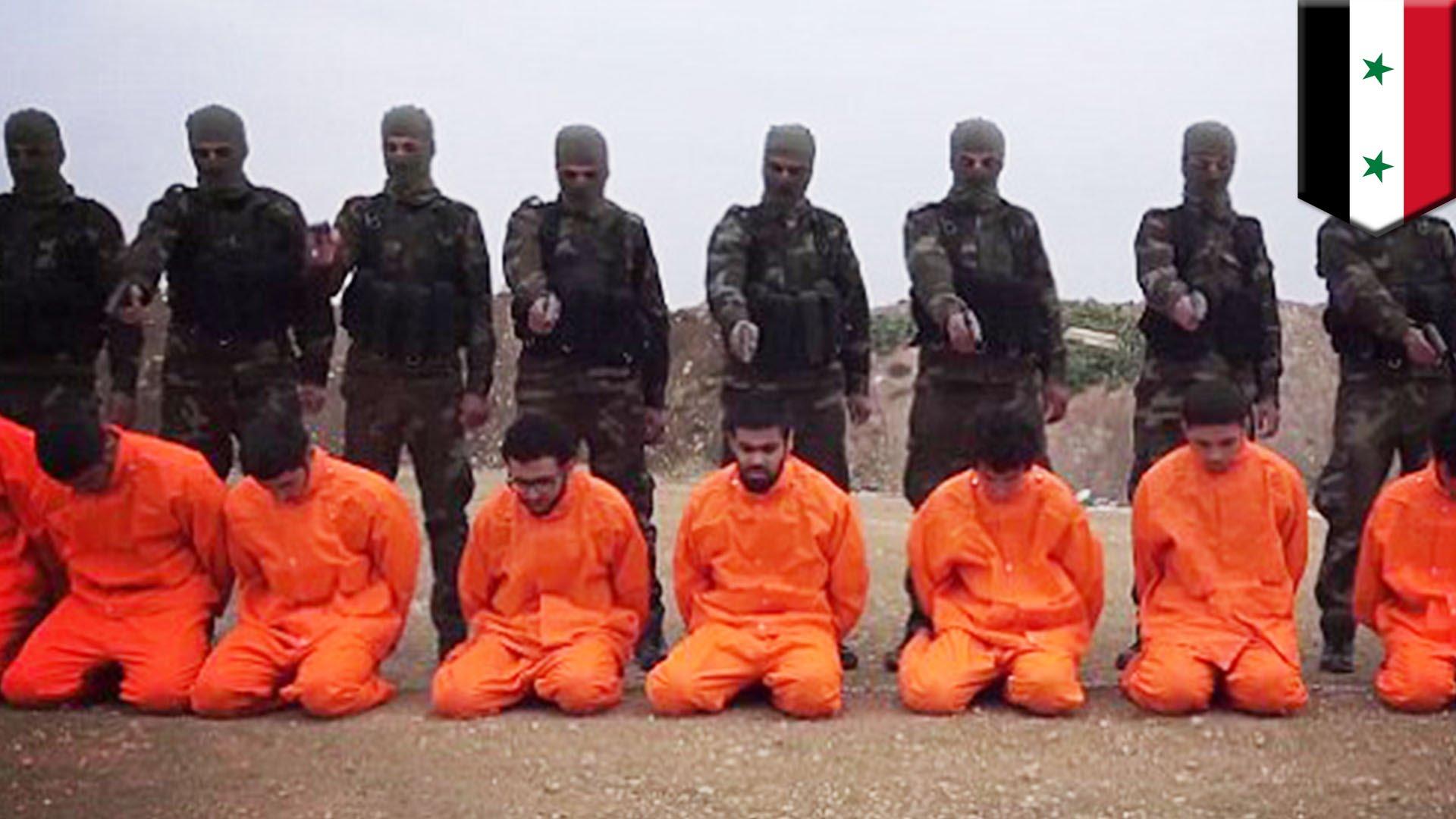 Propagande de Daesh - Execution extrait vidéo