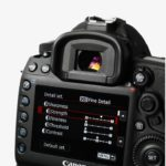 Canon Eos 5D Mark IV - UI Screen