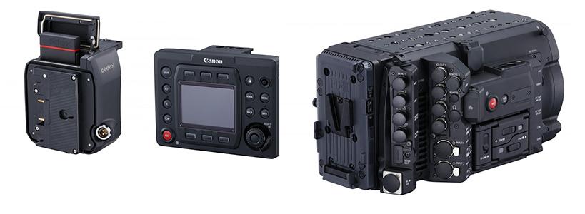 Canon EOS C700 : éclaté