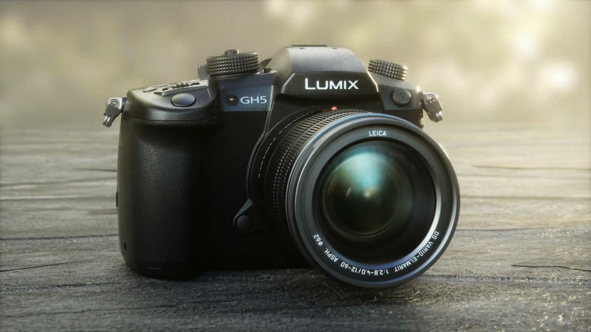 CES Panasonic Lumix GH5 Banner