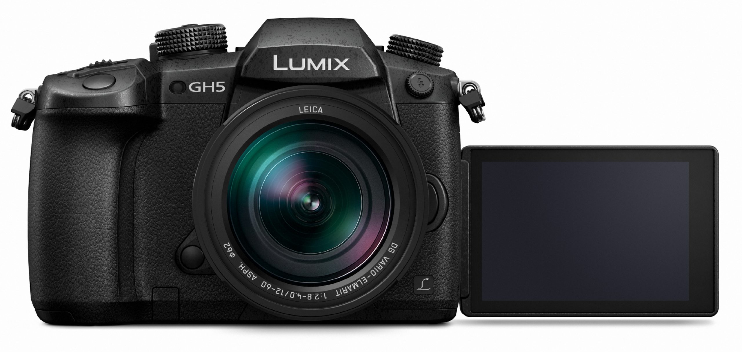 CES Panasonic Lumix GH5 Front view