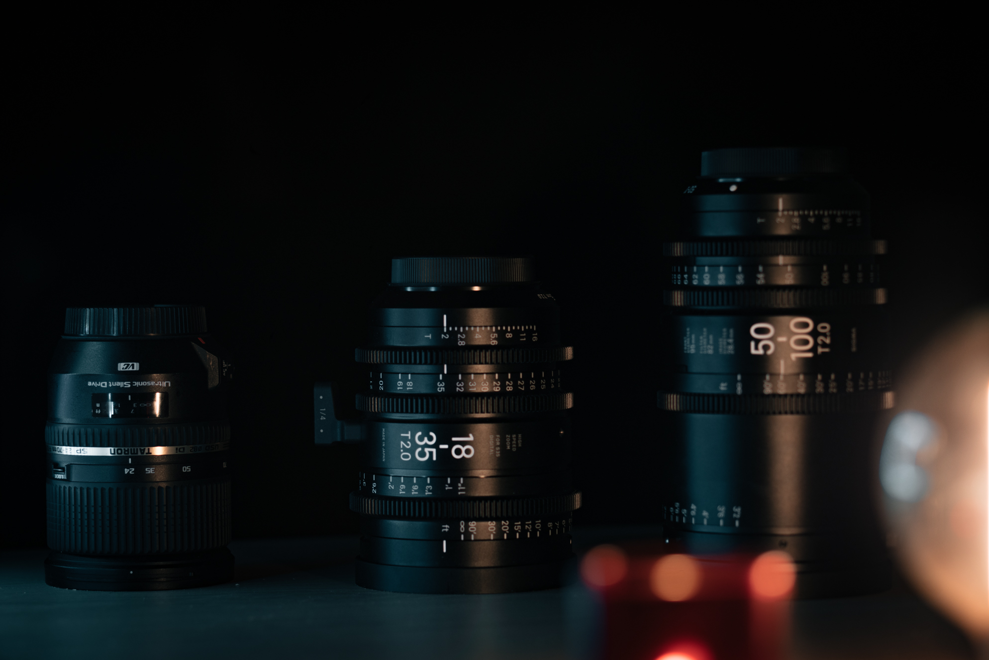 Sigma Cine Zoom - 18-35mm T2.0 / 50-100mm T2.0 - © Sylvain BERARD 2017 pour Focus Numérique