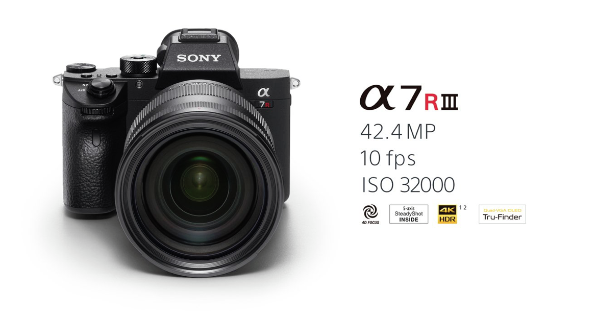 Sony Alpha 7R III - front