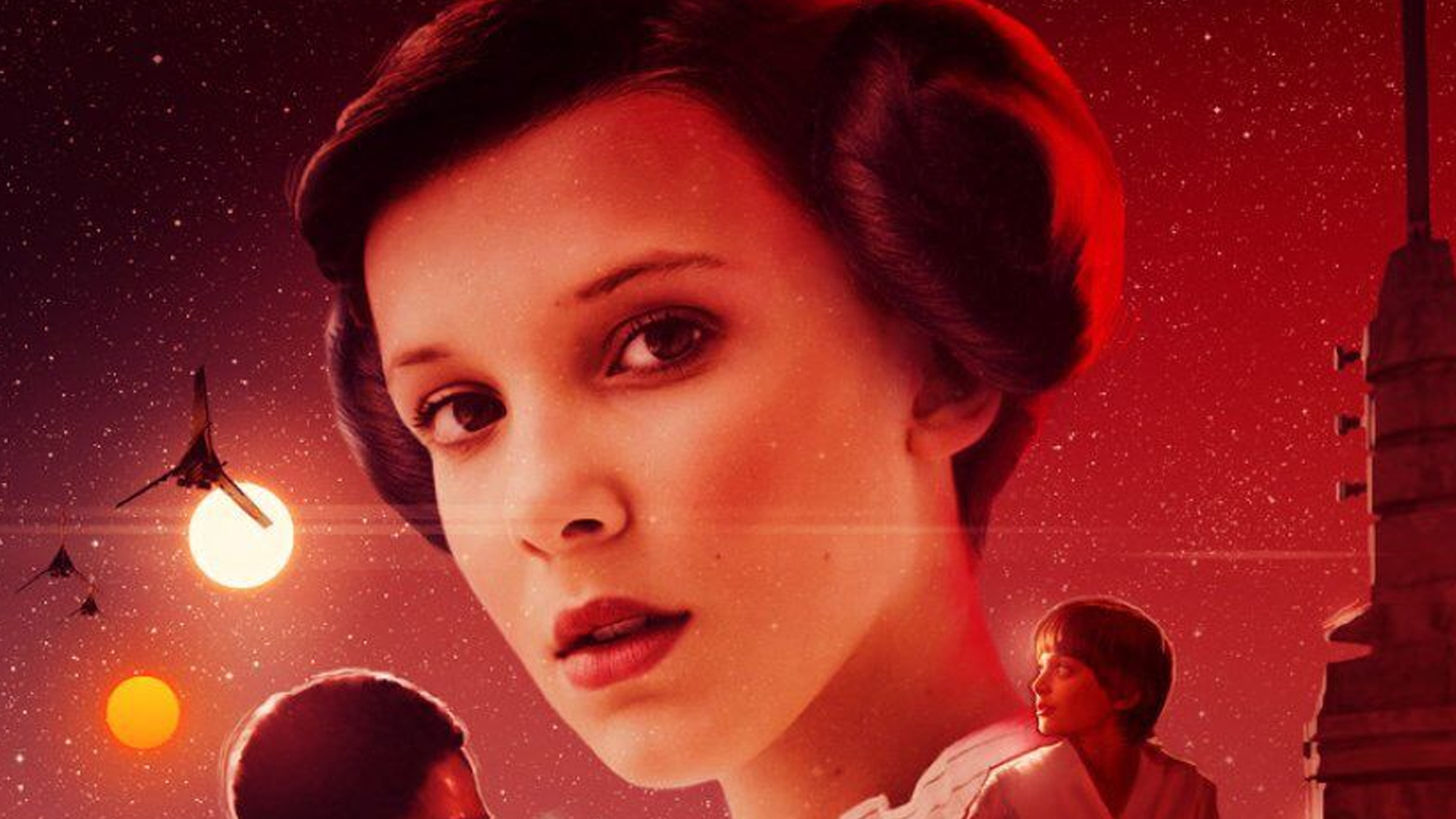 Stranger Things vs Star Wars Cross Over Banner - Michael Maher