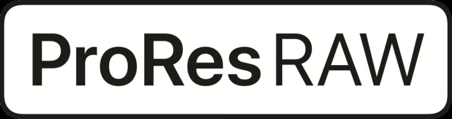 Enjeux du Prores RAW - ProRes Raw logo