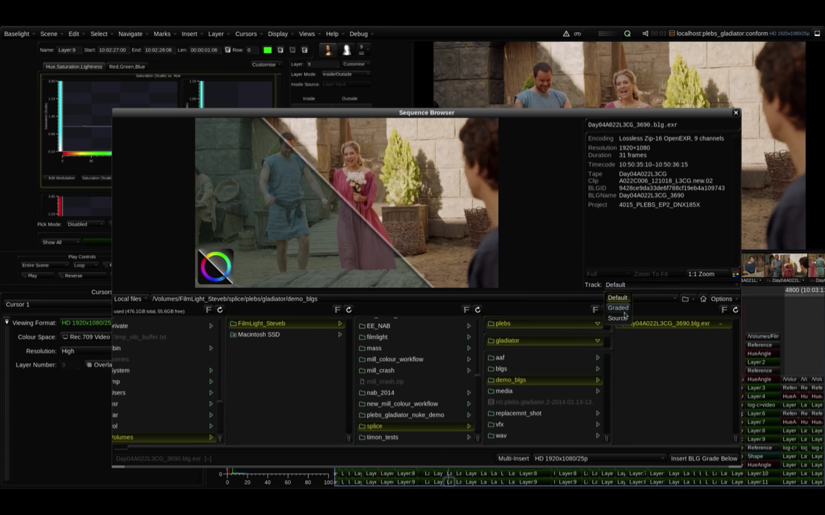 Colorist Tip - Baselight